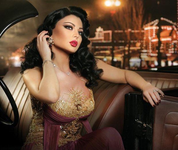 باقة من اجمل اللقطات للنجمة اللبنانية الاستعراضية هيفاء وهبي