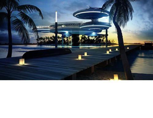 الصورة 207 بتاريخ 29 يناير / كانون الثاني 2013 - دبي تبني أكبر فندق تحت الماء في العالم