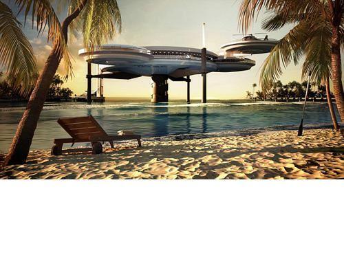 الصورة 208 بتاريخ 29 يناير / كانون الثاني 2013 - دبي تبني أكبر فندق تحت الماء في العالم
