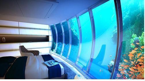 الصورة 212 بتاريخ 29 يناير / كانون الثاني 2013 - دبي تبني أكبر فندق تحت الماء في العالم