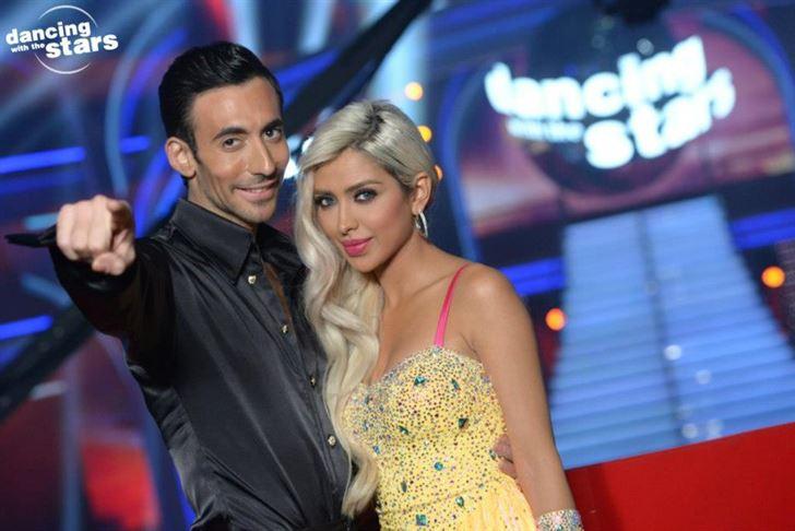 الصورة 491 بتاريخ الإثنين، 11 فبراير/شباط 2013 - تألق ملفت للنجمة اللبنانية نايا في رقص النجوم