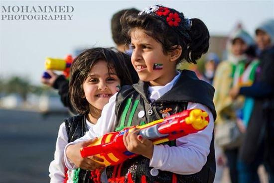 اجواء العيد الوطني بعدسة المصور محمد بحريني
