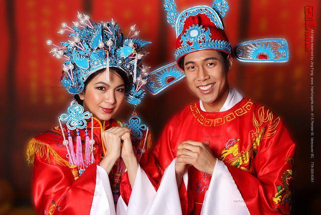 ما هو سر اللون الاحمر في الاعراس الصينية