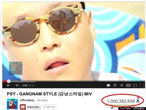 الصورة 399 بتاريخ الخميس، 7 فبراير/شباط 2013 -  Gangnam Style يتجاوز المليار مشاهده على اليوتيوب