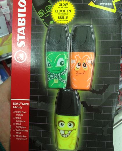 Funny markers @Sultan Center