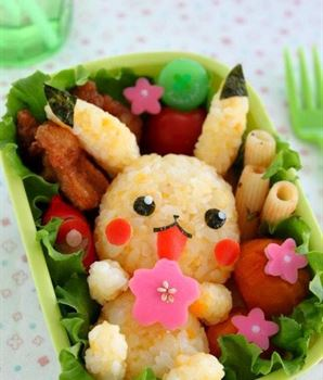 See these amazing food art dishes inspired from cartoon characters!