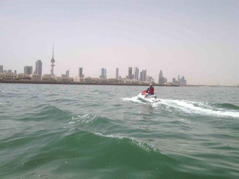 الصورة 717 بتاريخ 4 مارس 2013 - جت سكي - الكويت