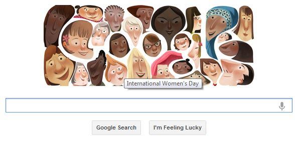 جوجل تحتفل مع المرأة في يومها العالمي