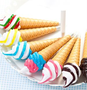 Funky ice cream shaped gadgets for everyday use