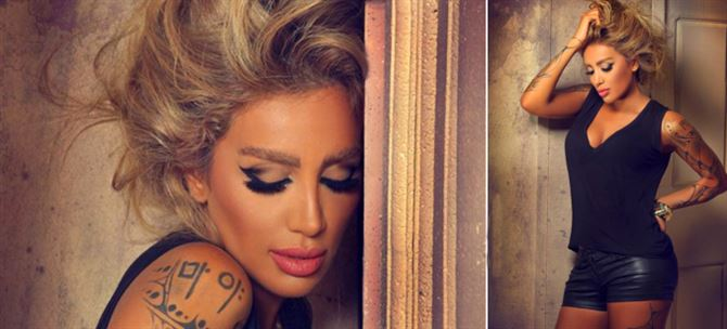 Hottest Photo Shots for the Lebanese Diva Maya Diab