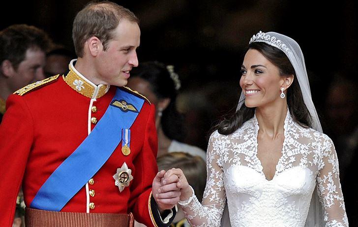 الصورة 1230 بتاريخ 29 أبريل / نيسان 2013 - الأمير البريطاني ويليام يحتفل اليوم بعيد زواجه الثاني مع زوجته كاتي