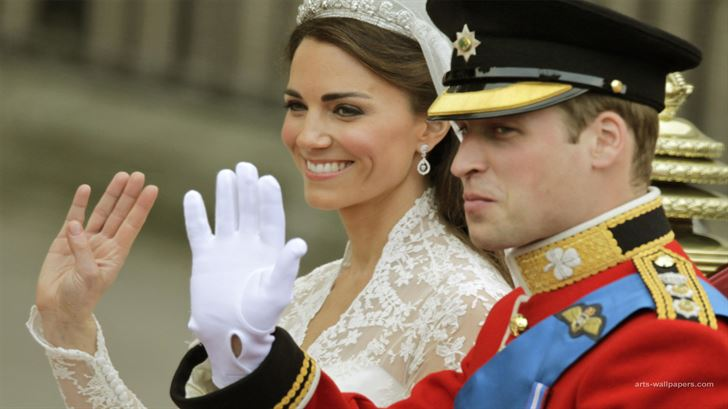 الصورة 1232 بتاريخ 29 أبريل / نيسان 2013 - الأمير البريطاني ويليام يحتفل اليوم بعيد زواجه الثاني مع زوجته كاتي