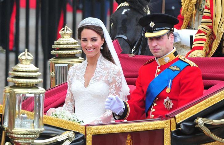 الصورة 1233 بتاريخ 29 أبريل / نيسان 2013 - الأمير البريطاني ويليام يحتفل اليوم بعيد زواجه الثاني مع زوجته كاتي