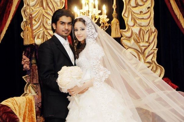 الصورة 1329 بتاريخ الأربعاء، 8 مايو/أيار 2013 - بالصور...اطلالة بعض النساء المشهورات من العالم العربي يوم زفافهن