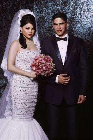 الصورة 1332 بتاريخ الأربعاء، 8 مايو/أيار 2013 - بالصور...اطلالة بعض النساء المشهورات من العالم العربي يوم زفافهن