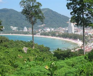 A day on the Patong Beach