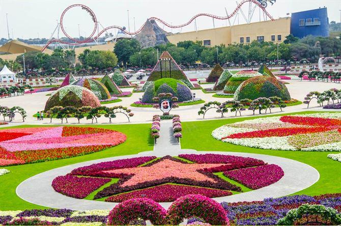 تعرف على الحديقة المعجزة في دبي