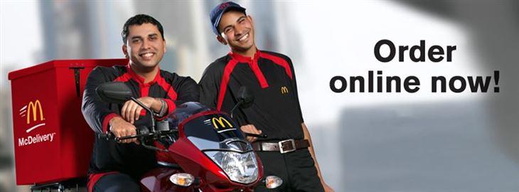 خبر سار جدا لمحبي ماكدونالدز: اصبح هناك خدمة توصيل!