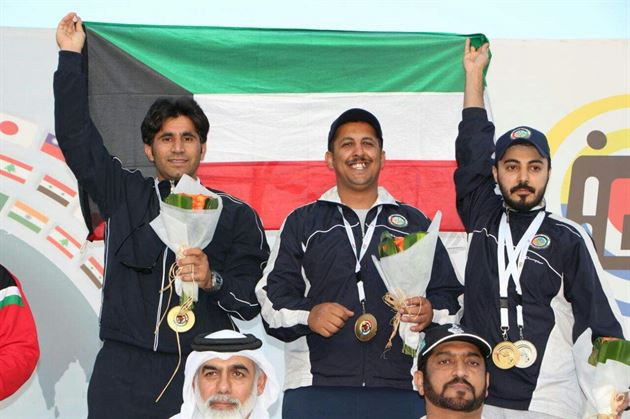 Kuwait ends Asian Shotgun Championship with huge eight medals tally