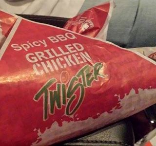 Kentucky Fried Chicken New Grilled Chicken Twister