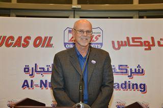 شركة النويصيب الدولية تطلق زيوت لوكاس الأميركية على حلبة سرب في الكويت