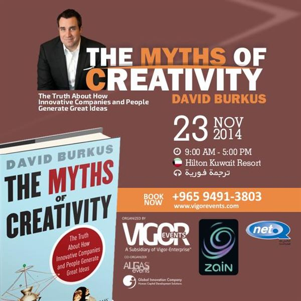 David Burkus for the first time in Kuwait