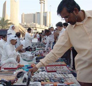 """Souk Al-Magasis"" an old bazaar in heart of Kuwait capital"