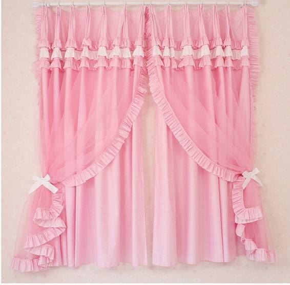 Pink curtains designs for girls rooms website for Curtain designs for girls bedroom