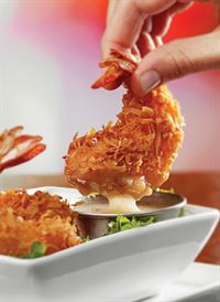 Free Key West Shrimp in Ruby Tuesday Salmiya
