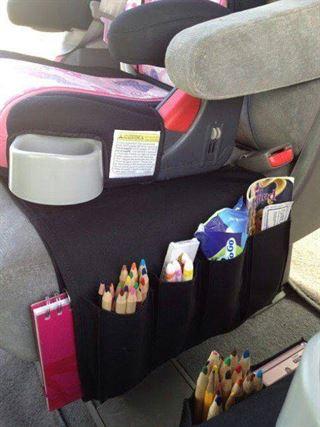 أشياء مهمة قد تحتاجها في سيارتك اذا كان لديك اطفالا صغار