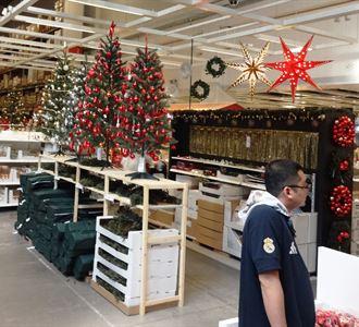 أجواء الشتاء وعيد الميلاد بدأت في متجر ايكيا