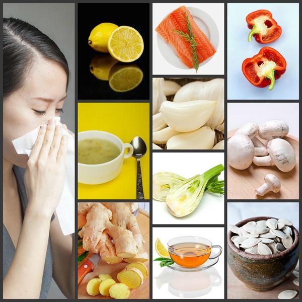تعرف على بعض الأطعمة التي تساعد على محاربة الانفلونزا