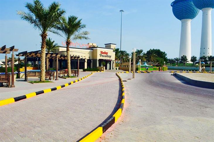 New drive-through for free valet parking at RubyTuesday Sharq
