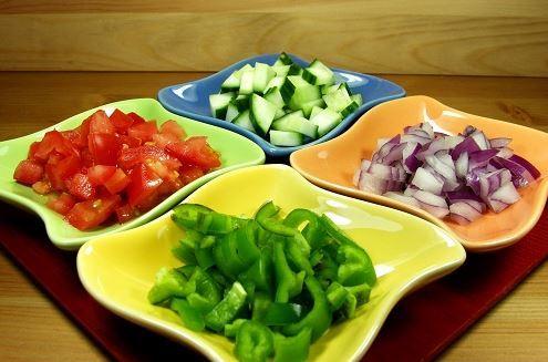 Try the easy Gazpacho salsa recipe
