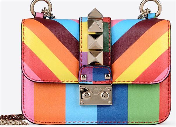 سعر حذاء وحقيبة فالنتينو الملونة من تشكيلة ربيع 2015