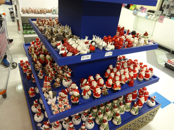 Take a look at the Christmas corner in Sultan Center Hawally