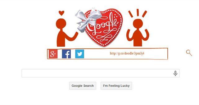 Google on Valentine