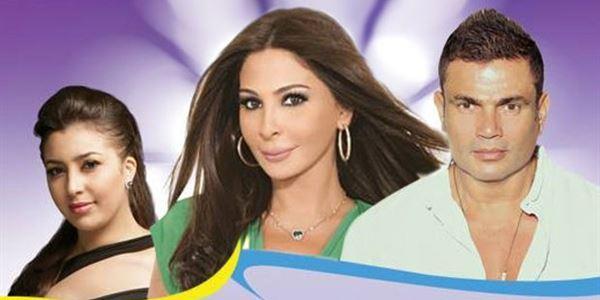 """عمرو دياب """"كرة نار"""" أشعلت أولى سهرات مهرجان هلا فبراير"""