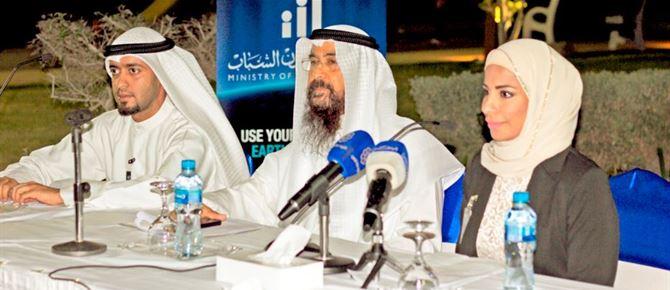 الساير تشارك فريق الكويت للإحتباس الحراري بالتحضير لفعالية ساعة الأرض 2014