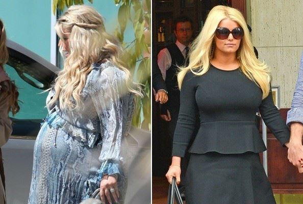 Jessica Simpson diet and befor/after weight loss