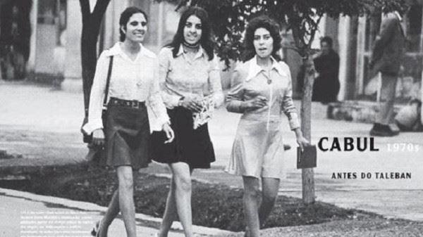 صورة نادرة لفتيات افغانيات في السبعينات