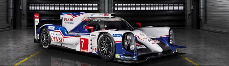 TOYOTA Unveils the TS040 Hybrid