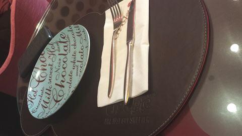 غداء خفيف في تشوكليت بار