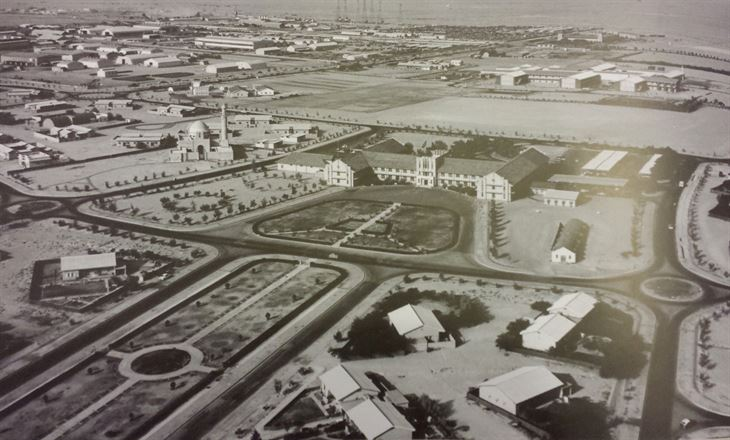 مدينة الاحمدي في الماضي