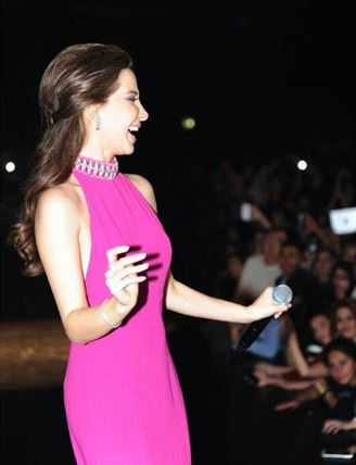 Nancy Ajram's Concert in Paris