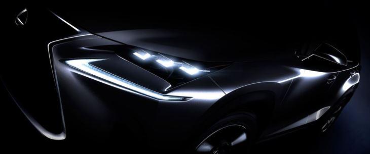 الظهور العالمي الأول لمركبة الكروس اوفر الفاخرة لكزس  NX  في معرض بكين الدولي للسيارات