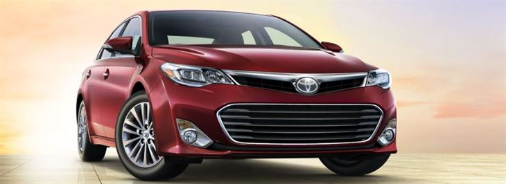Toyota Avalon 2014 Elegant Style  With a Touch of Youth Spirit