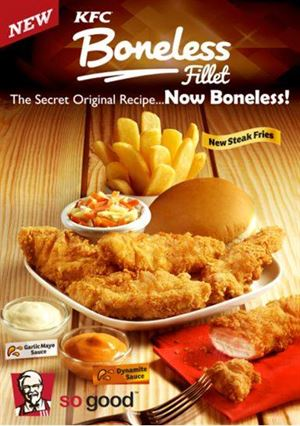 KFC Boneless Fillet ... still one of the favorites