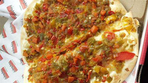 Breakfast from Man'Oushe ... the original Lebanese taste