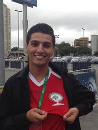 محمد عساف في ساوباولو لافتتاح كاس العالم
